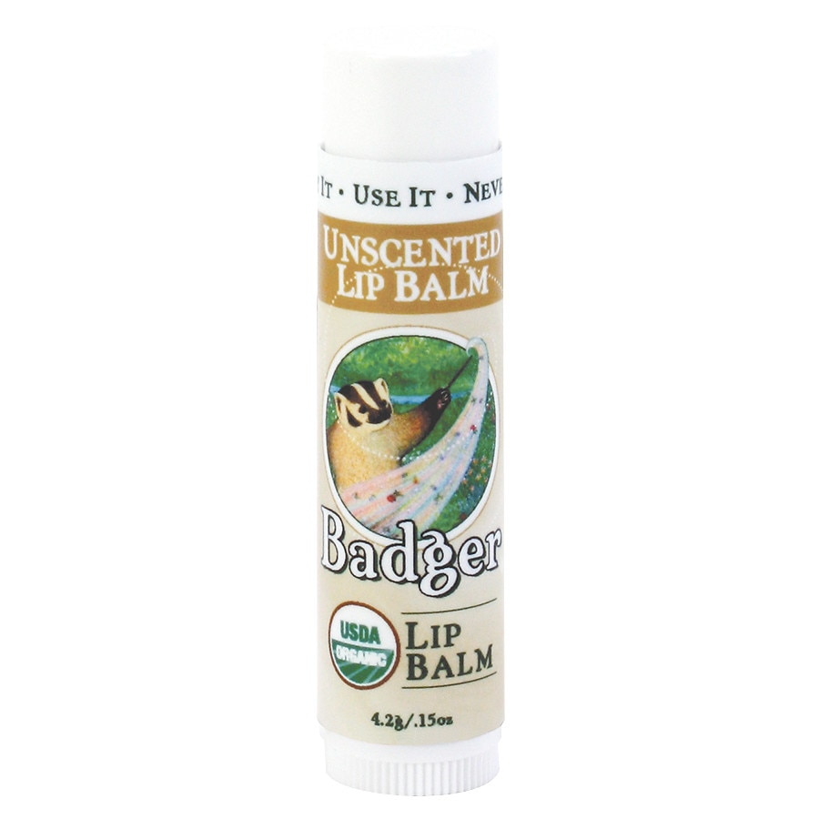 badger classic lip balm unscented walgreens