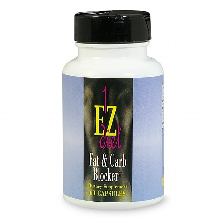 Image of 1-EZ Diet Fat & Carb Blocker, Capsules - 60 ea