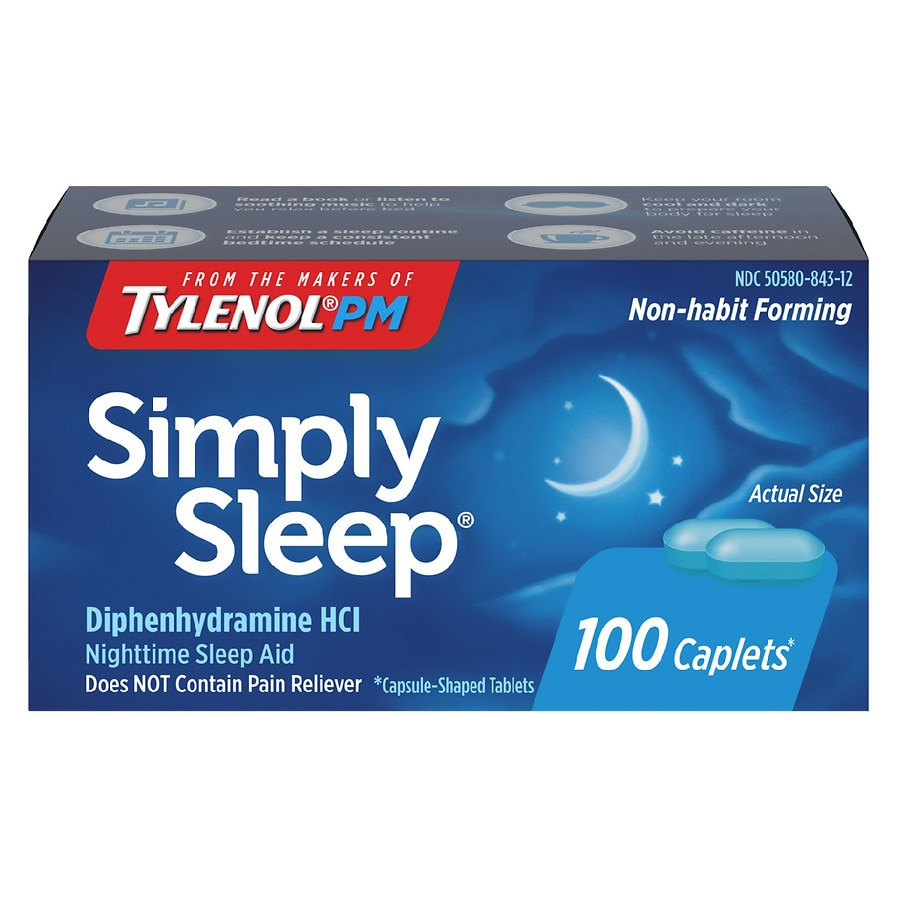 Simply Sleep Nighttime Sleep Aid Capsules Walgreens