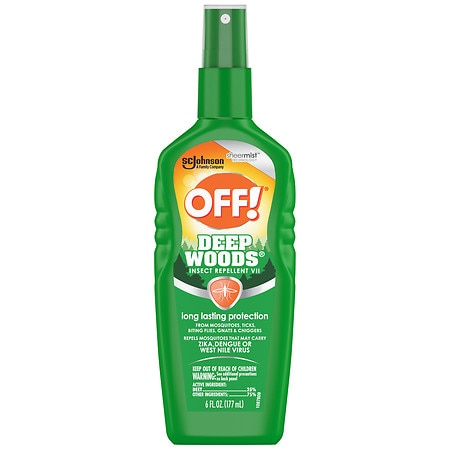 Deep Woods Off! Insect Repellent