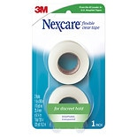 "Nexcare First Aid Flexible Clear Tape 1"" x 360"" Rolls"