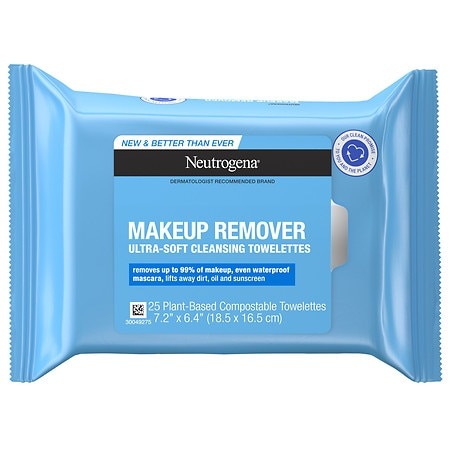 Neutrogena Makeup Remover Cleansing Towelettes Refill Pack - 25 ea