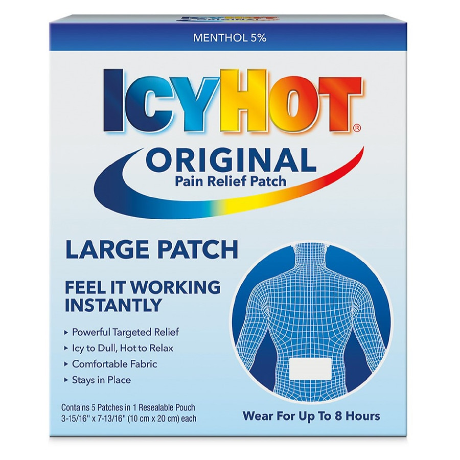Icy Hot Medicated Patches5 0 Ea