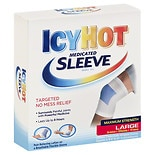 Icy Hot Maximum Strength Medicated Sleeves Large