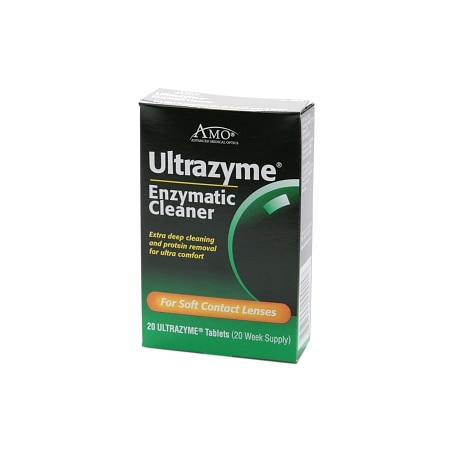 Image of AMO Ultrazyme Enzymatic Cleaner, Tablets - 20 ea