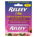 Releev 1 Day Cold Sore Symptom Treatment