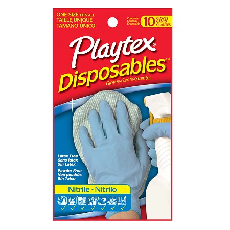 Playtex All Purpose Disposable Nitrile Gloves