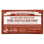 Dr. Bronner's All-One Hemp Pure-Castile Soap Bar Eucalyptus