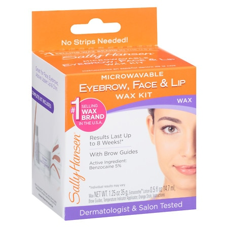 Sally Hansen Eyebrow, Face & Lip Wax