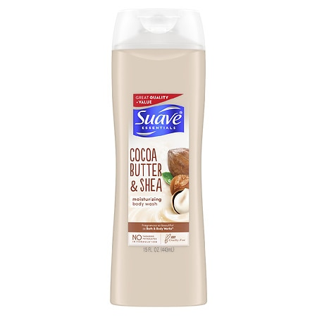 Suave Naturals Essentials Body Wash Creamy Cocoa Butter & Shea