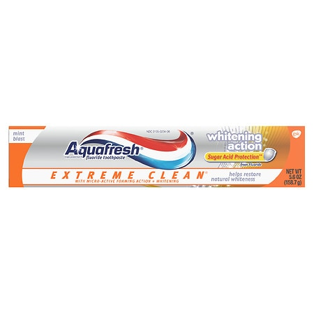 Aquafresh Toothpaste, Whitening Action | Walgreens
