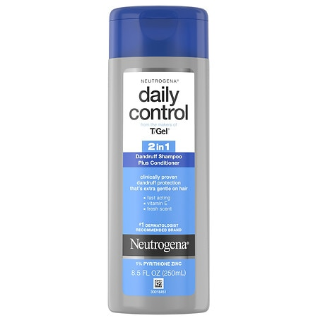 Neutrogena T-Gel Daily Control 2 in 1 Dandruff Shampoo Plus Conditioner