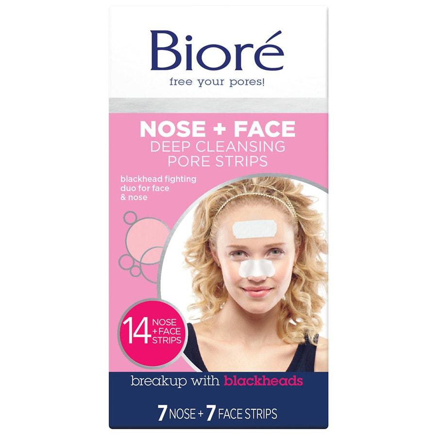 Biore chin strips