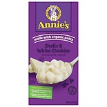 Annie's Totally Natural Shells & White Cheddar Regular Size Regular size