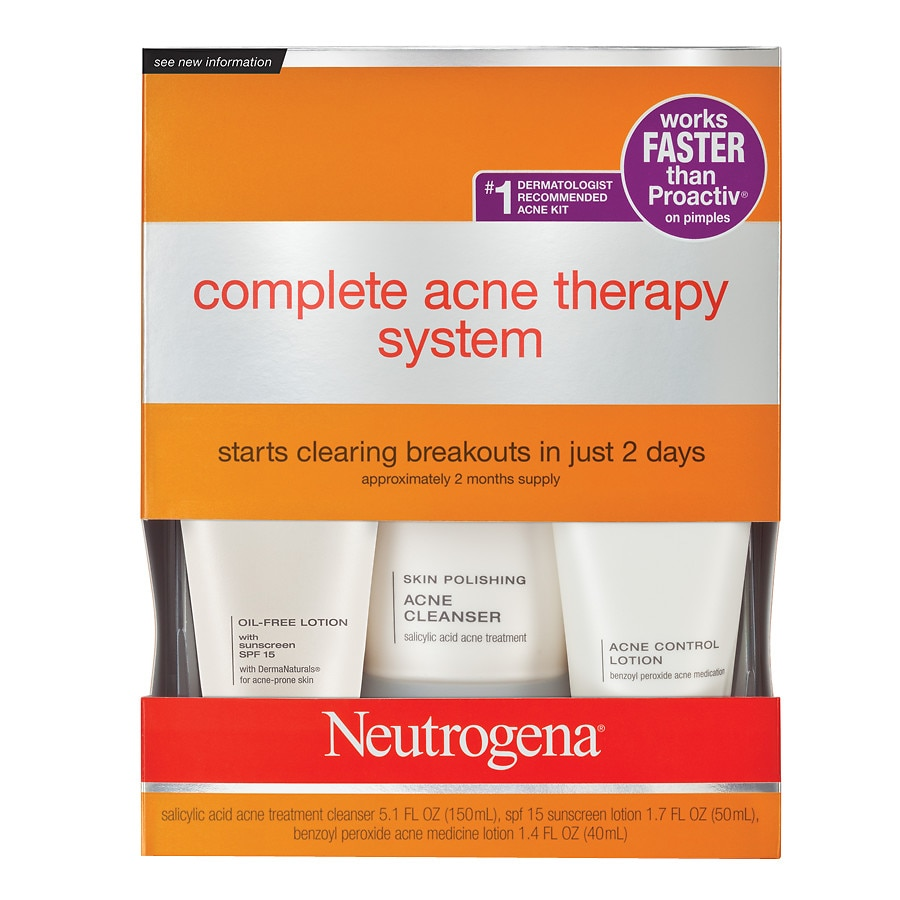 Neutrogena Advanced Solutions Complete Acne Therapy System Walgreens