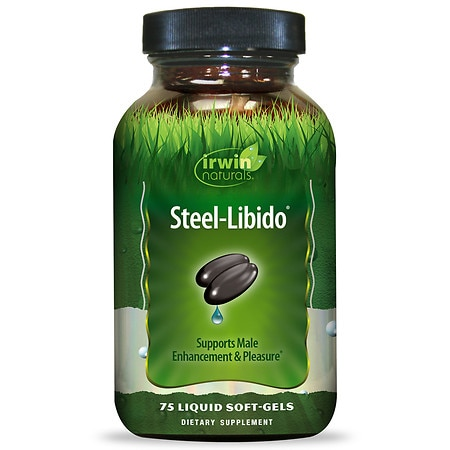 Irwin Naturals Steel-Libido, Liquid Gel Caps