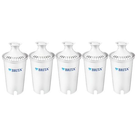 Brita Water Filter Pitcher Replacement Filters - 5 ea