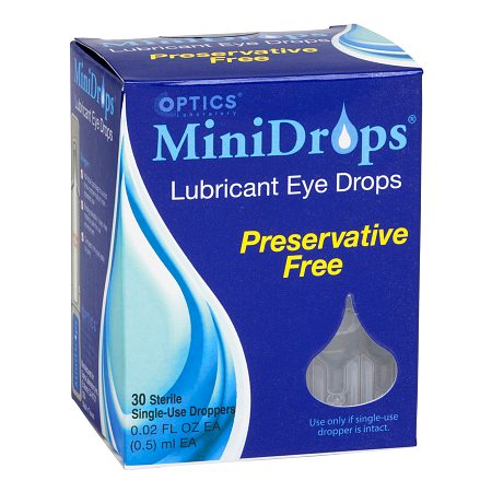 Optics Laboratory Minidrops Eye Therapy Single-Use Droppers - 0.6 oz.