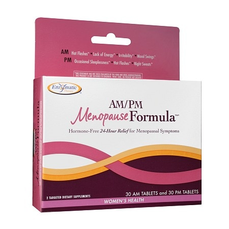 Enzymatic Therapy AM/PM Menopause Formula, Tablets
