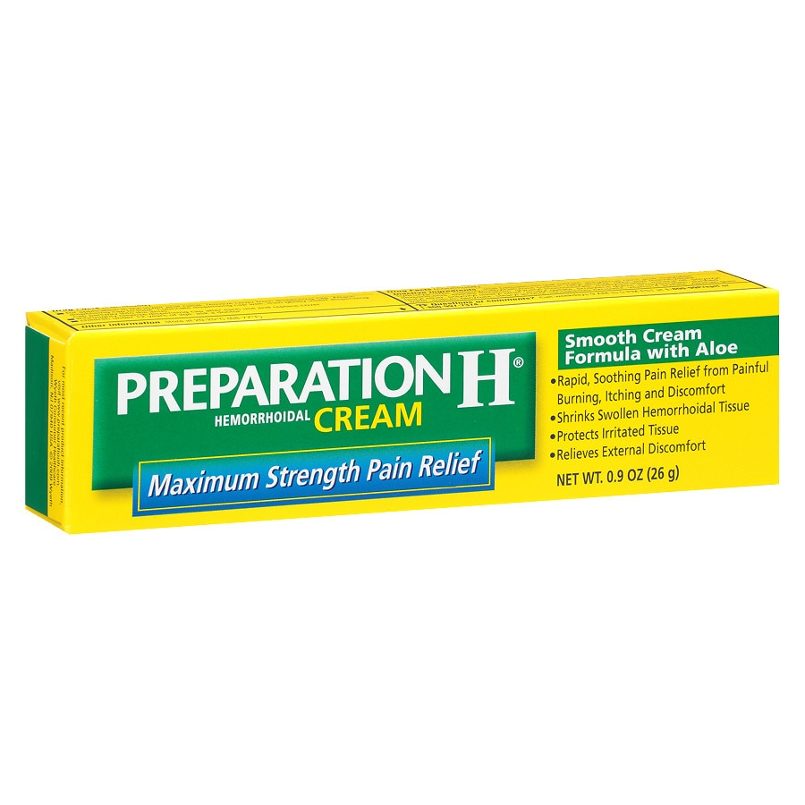 Preparation H Hemorrhoidal Cream Walgreens