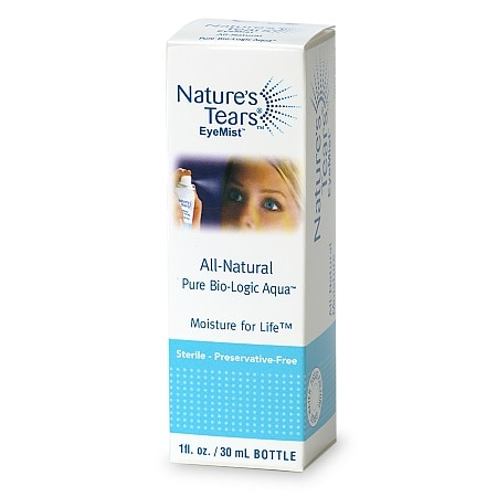 Nature's Tears Eye Mist All-Natural Pure Bio-Logic Aqua