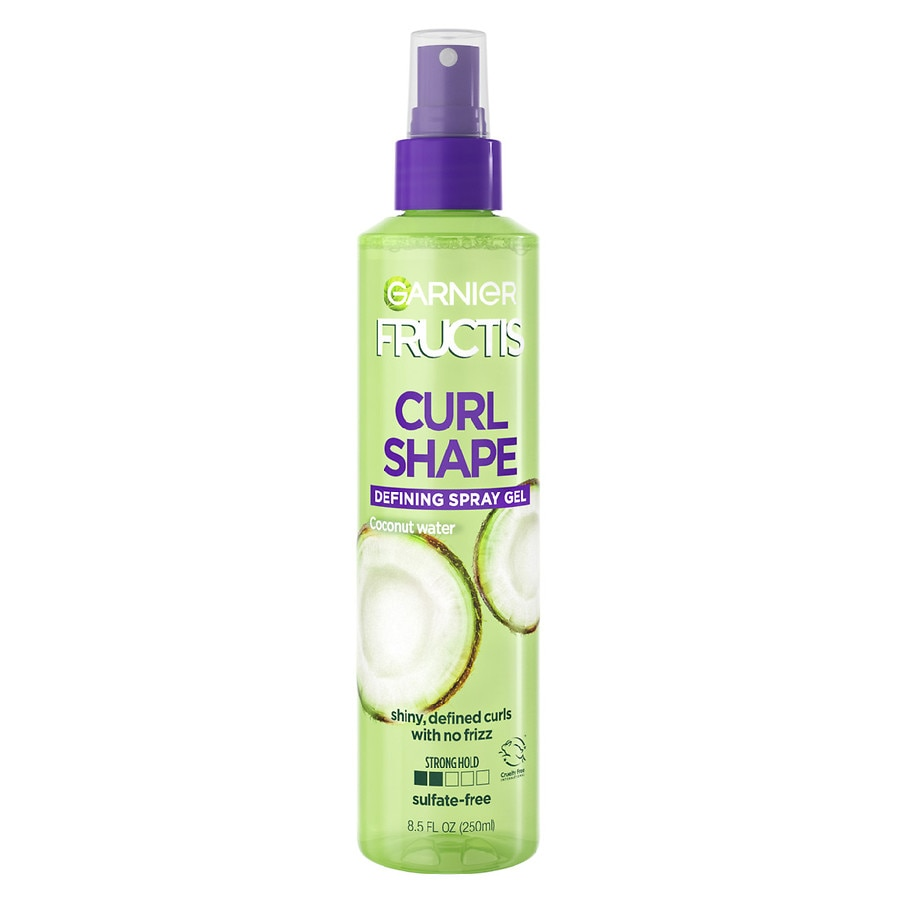 styling products for hair garnier fructis style curl shape defining spray gel for 8968